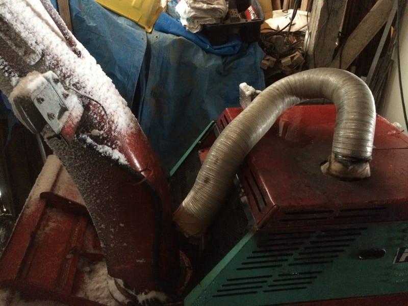 凍結防止ドライヤー プロトタイプ