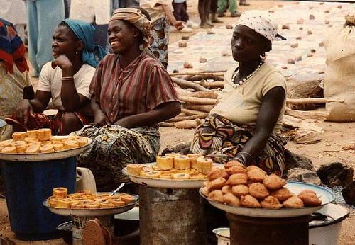 (衝突が起きたナイジェリア・ジョスのマーケット 普段は平穏な暮らしが営... ナイジェリア  選