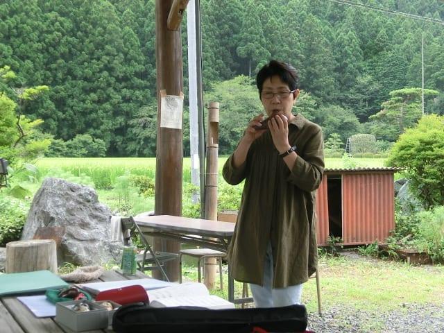 オカリナ・西田さん