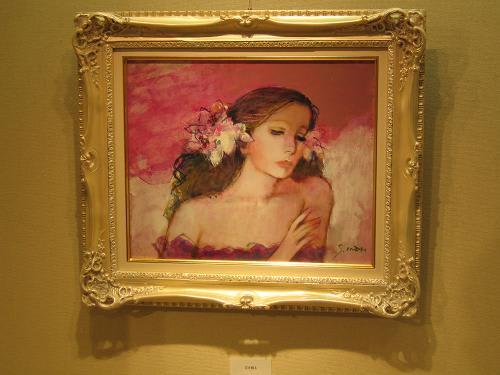 (続報) 今井幸子さんの絵は、パリの華やかさが香るような、それも物憂げな...  東京タウンウォ