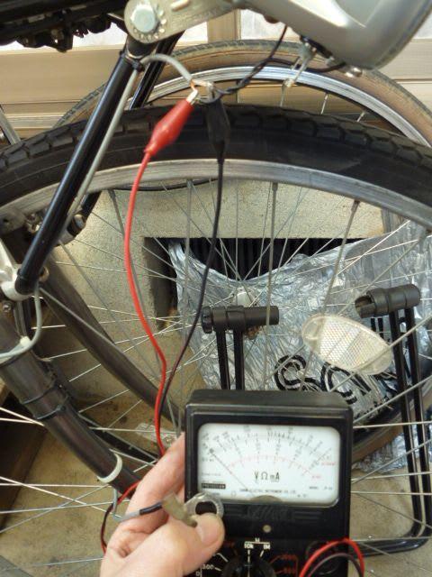 自転車の 自転車 前輪 ナット サイズ : 端子を外して、はんだ付け箇所 ...
