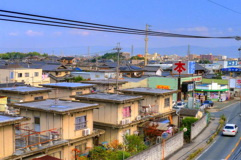 奈良県大和高田市市場の風景 - 美しい星
