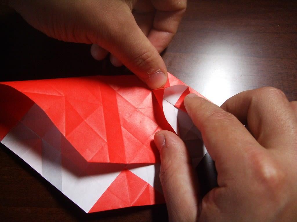 バラ 折り紙 福山 バラ 折り紙 : 折りバラ「福山ローズ」・折り ...