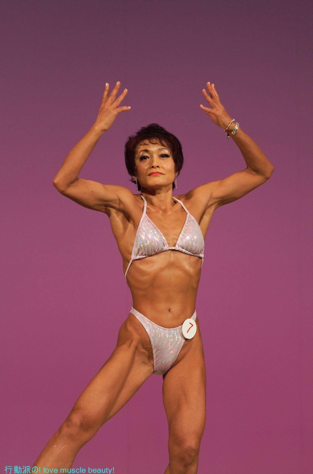 行動派の I love muscle beauty!