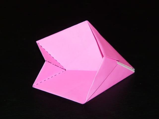 折り紙の:折り紙 桜の花びら-blog.goo.ne.jp