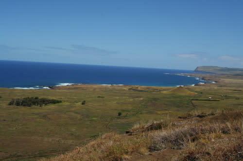 イースター島モアイ ラノ・ララク