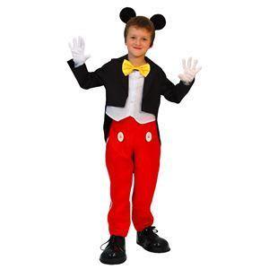 RUBIE'S(ルービーズ) DISNEY(ディズニー) コスプレ Child Mickey(ミッキー) Mサイズ