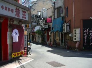 風俗街への入口付近