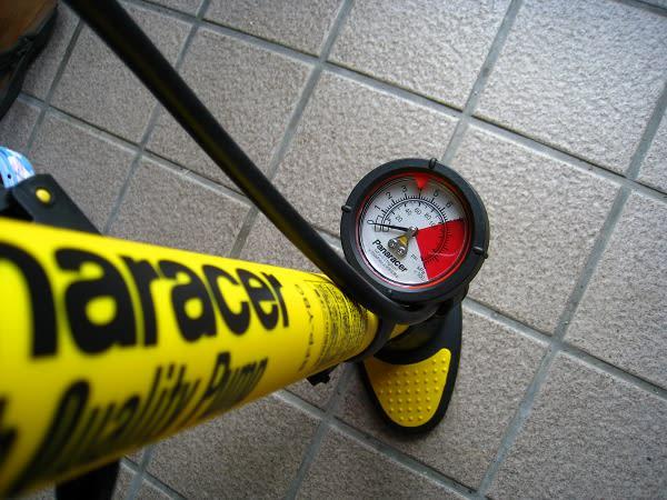 ウチにある自転車用空気入れは ...