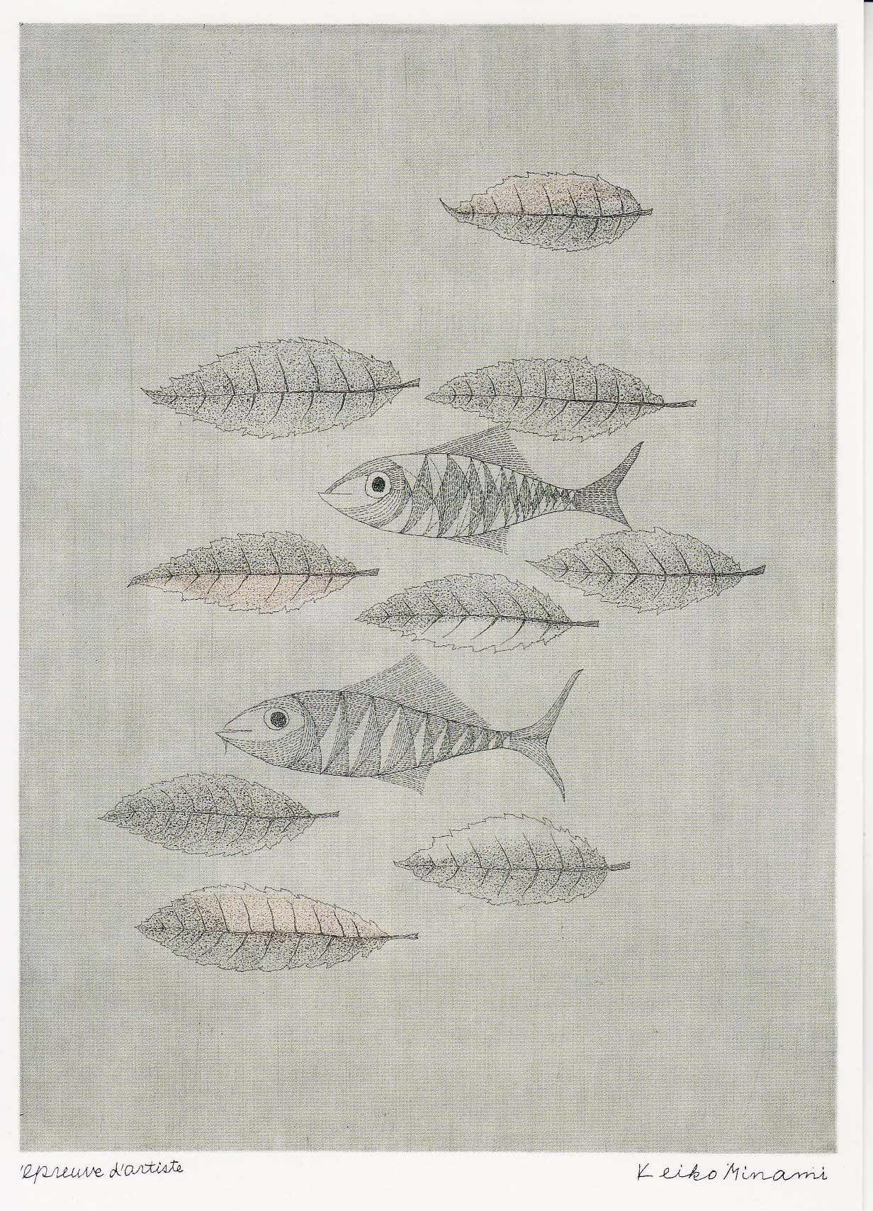版画家・南桂子(1911-2004)は、富山県射水郡下関中川(現在の高岡市中川)に生まれ、高等女