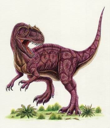 アロサウルス - 恐竜だいす記!