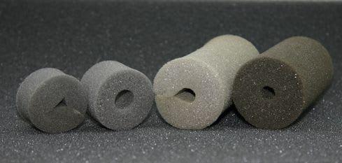 以前作った自作フィルターではスポンジ部分は市販品の替えスポンジを使ってい... 自作スポンジフィ
