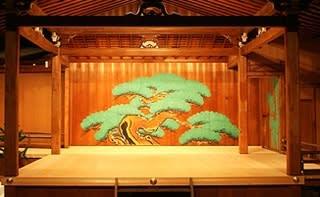 鏡板 (能舞台) - JapaneseClass.jp
