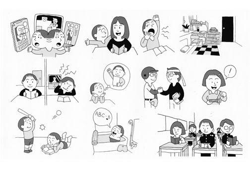 児童教育書籍の挿絵イラス1