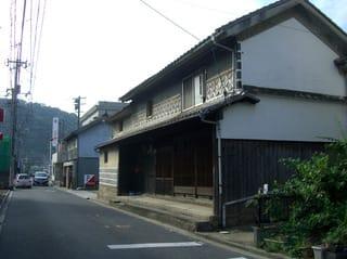 広島県道390号(惣門近く)