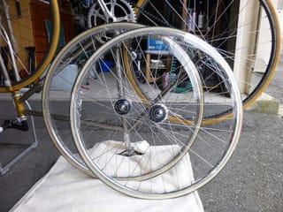 ... ホイールの交換 - Kinoの自転車