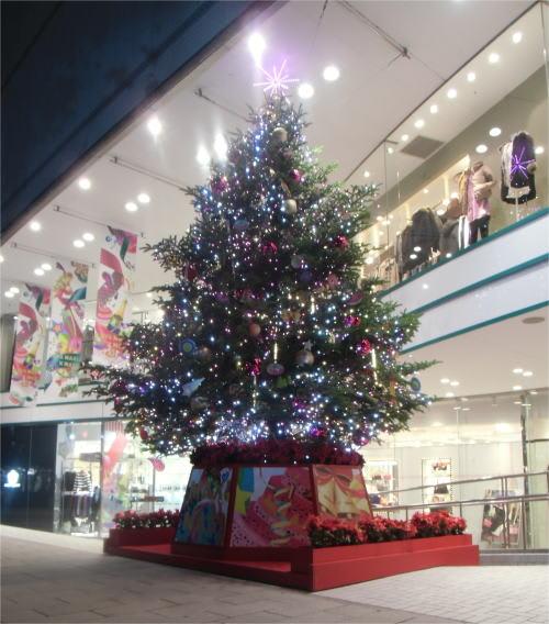 パルコのクリスマスツリー