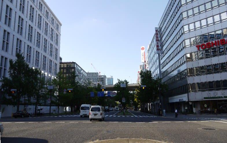 本町から梅田までの通勤散歩 ...
