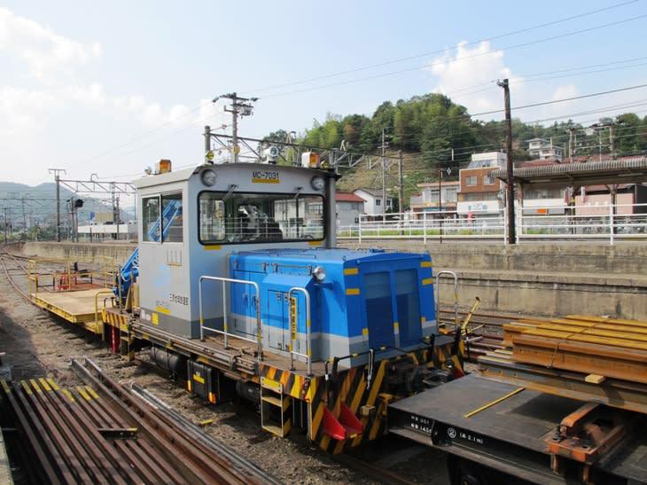 モーターカーMC-7031 八本松駅にて - 観光列車から! 日々利用の乗り物まで