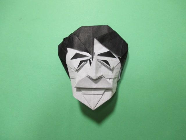 ハート 折り紙:折り紙パンダ顔折り方-hagifood.com