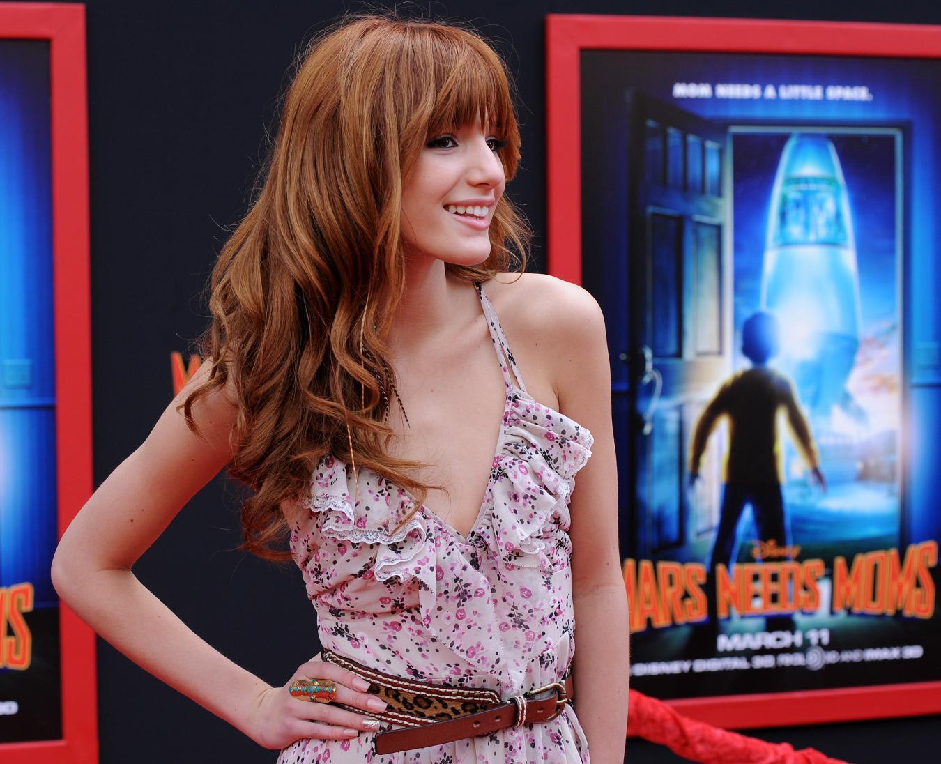 Bella Thorne filming Shake It Up in Studio City 28 Jun 2012 - ☆Favorite Celebrity ...