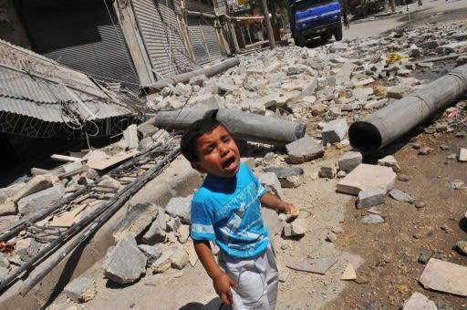 シリア内戦にアメリカは介入し、虐殺を止めるべき http://www.t... シリア内戦にアメ