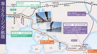 尾道~鞆の浦海上クルージング航路