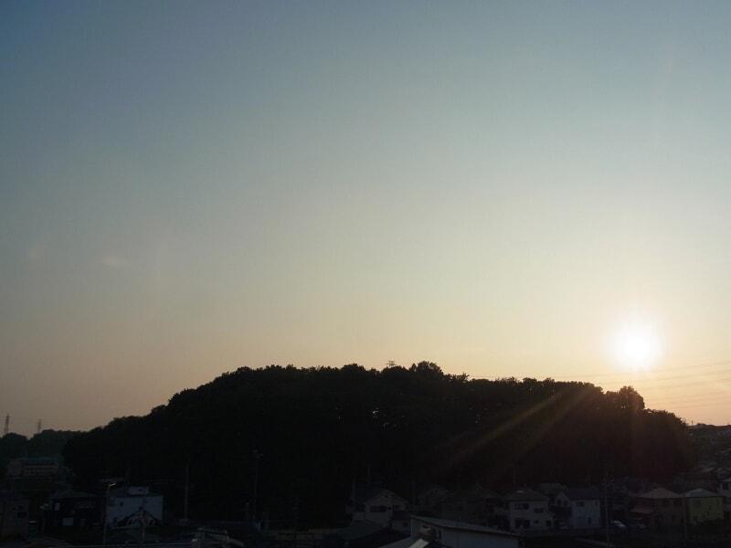 06月21日 夕方の根岸台