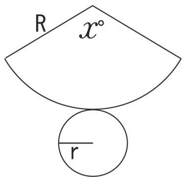 円錐の展開図~の巻き - 名寄 ... : 図形の問題 : すべての講義