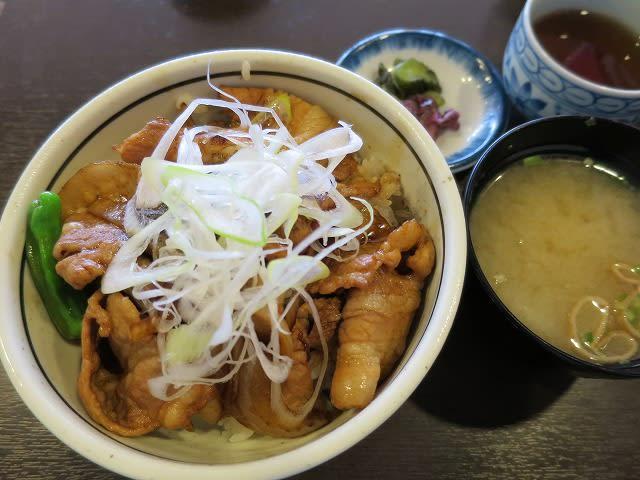 北海道産豚丼