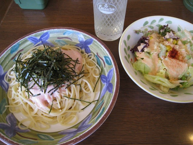 タラコスパゲティセット