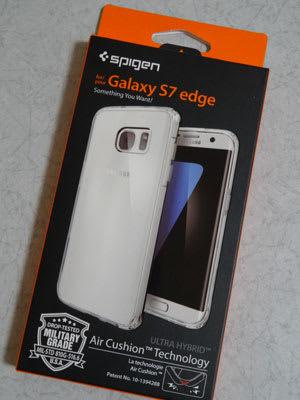 Spigen Galaxy S7 edge ������ ����ȥ�ϥ��֥�å�