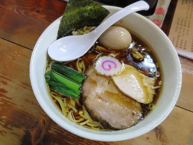 醤油らぁめん+味玉