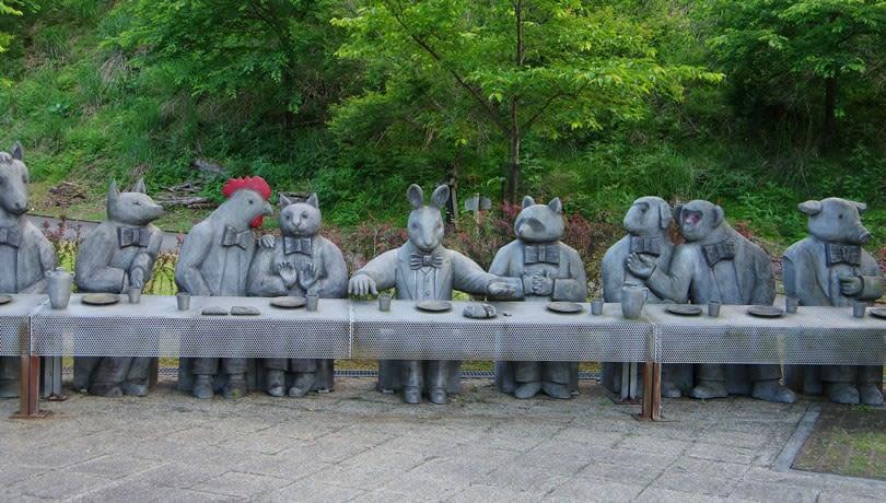 あさご芸術の森美術館「最後の午餐」