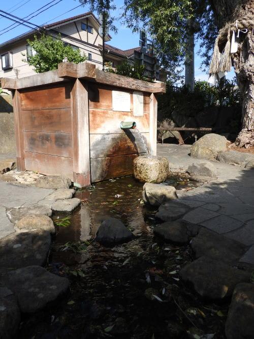 松本の城下町湧水群歩き回り 北馬場柳の井戸