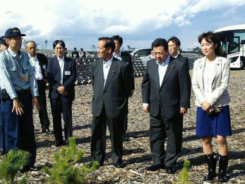 東日本大震災被災地~農林水産視察