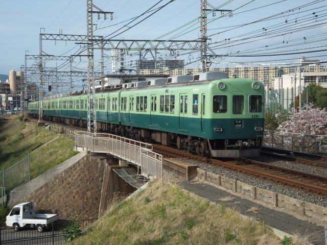京阪2200系旧塗色