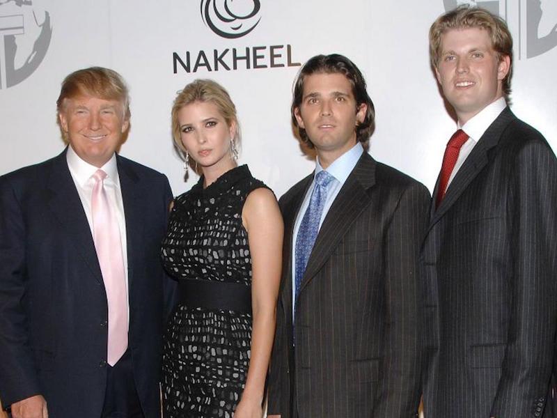 イギリスの新聞「インディペンデント(The Independent)」は2016年04月11日に、ドナルド・トランプは、ニューヨークで彼の息子と娘が、彼に賛成の投票をしていないと