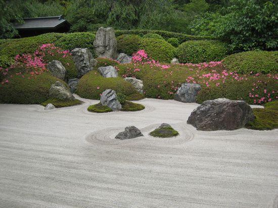 明月院@北鎌倉 枯山水庭園