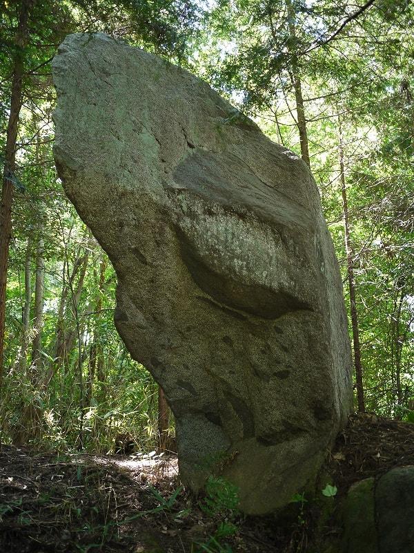東から見た立石