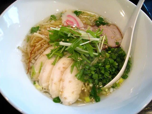 鶏そば(塩)