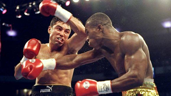 Manny Pacquiao Vs Miguel Cotto Fight Night Retro Boxing T Shirt in addition Mayweather Vs Pacquiao 13 Fights Of The Century further On This Day Oscar De La Hoya Fought Several Key Battles additionally Box Hace 10 Anos De Bernard Hopkins Vs Oscar De La Hoya likewise 23b8d7c0330971a18a22ab7891ff2aff. on oscar de la hoya vs felix trinidad