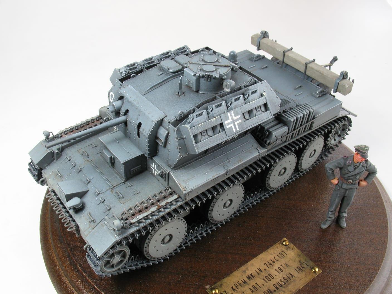 A13巡航戦車744(E)鹵獲車両 Panz...