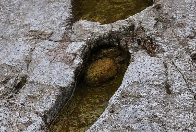 布目川の甌穴4