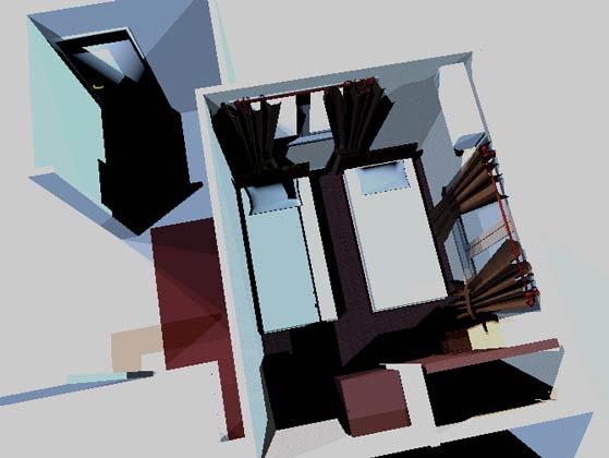 間取り図からお部屋を3Dで再現