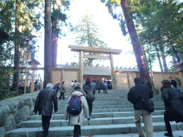 伊勢神宮内宮の冬至の朝日を見て来ました〜パート2