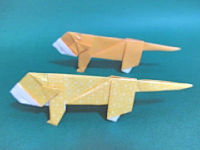すべての折り紙 折り紙 鬼 折り方 : 折り方動画 - 創作折り紙の折り ...