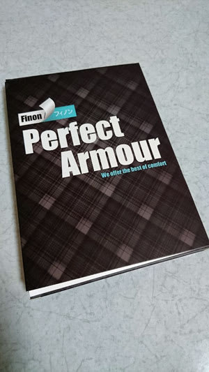 Finon Perfect Armourのパッケージ