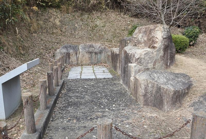 安堂第6支群3号墳の石室