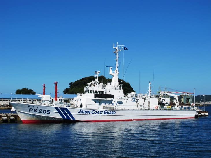 巡視船「あさま」は、つるぎ型巡視船は海上保安庁の巡視船です。分類上はPS... 観光列車から!